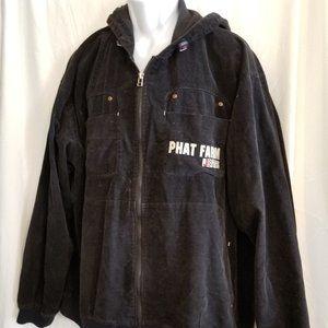 Vintage Phat Farm 92 Hooded Embroidered Jacket XL